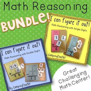 I Can Figure It Out! Math Reasoning Single and Double-Digi
