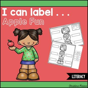 I Can Label . . . Apple Fun