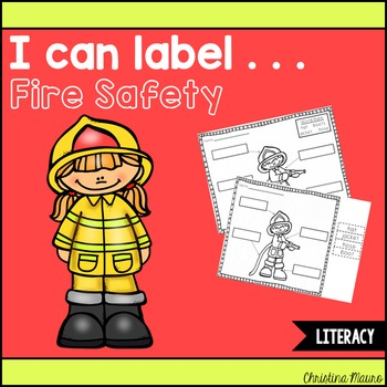 I Can Label . . . Fire Safety
