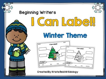 I Can Label - Winter