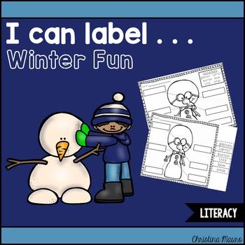 I Can Label . . . Winter Fun
