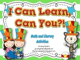 I Can Learn Can You!?  Whimsical Math and Literacy Centers