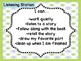 I Can... Literacy Station Statements