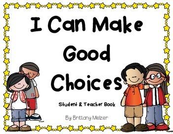 I Can Make Good Choices Book