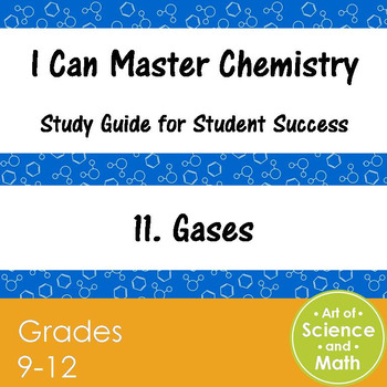 I Can Master Chemistry - Gases - High School Science