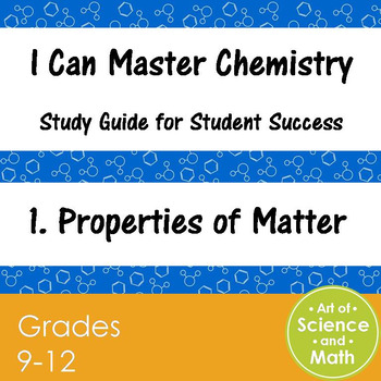 I Can Master Chemistry - Properties of Matter - High Schoo