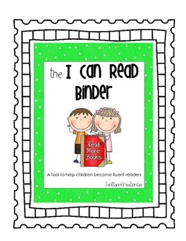 I Can Read Binder