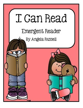 I Can Read ~ Emergent Reader For March
