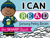 I Can Read Poetry Binder {January}