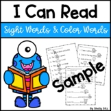 I Can Read Sample