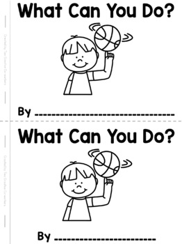 I Can ... Read and Write High Frequency Word Book FREEBIE!