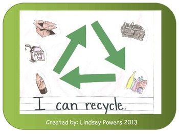 I Can Recycle - Project for Earth Day