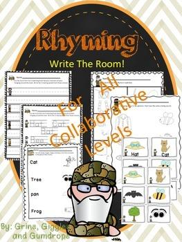 Rhyming Write The Room