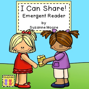 Emergent Reader FREEBIE | Sharing | Caring | Manners