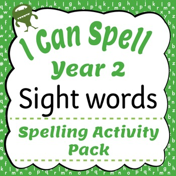I Can Spell: Unit 2 Exception Words