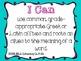 I Can Statements- 7th Grade Language: Common Core