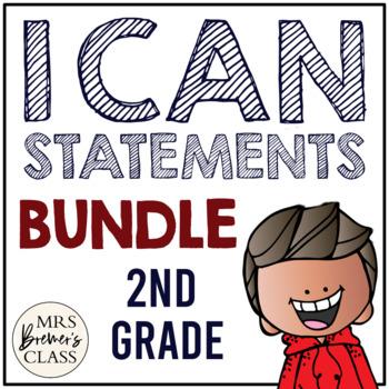 I Can Statements {Math & ELA)
