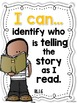 I Can Statements -- Learning Targets for First Grade ELA