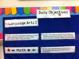 I Can Statements Posters: Common Core Standards for Langua