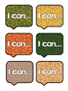 Jungle Theme I Can Statements and Essential Question Labels