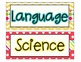 """I Can..."" Student Learning Objective Signs- Bonus EDITABL"