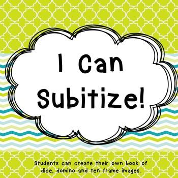 Subitize booklet