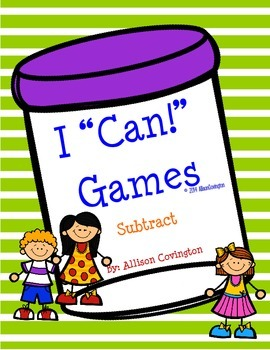"I ""Can!"" Subtract"