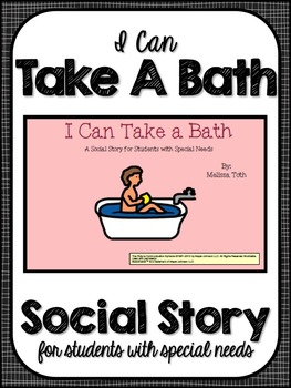 I Can Take a Bath- Social Story for Students with Special Needs