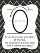 I Can Write My Numbers Posters in black/white