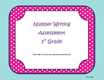 I Can Write Numbers to 120.