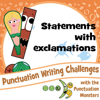 I Can Write Statements with Exclamation Marks