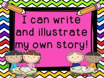I Can Write and Illustrate My Own Story!