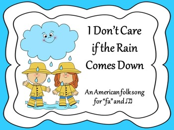 I Don't Care if the Rain Comes Down (I'm Gonna Dance All Day)