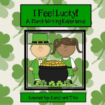 "March Writing Activity:  ""I Am Lucky!"""