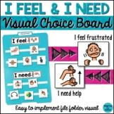 Behavior Management: I Feel and I Need Visual File Folder