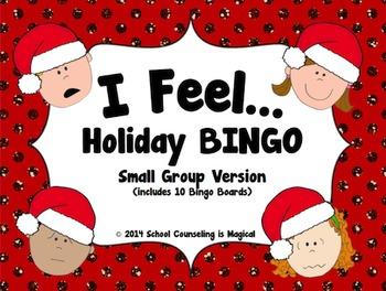 I Feel...Holiday Bingo (Small Group Version)