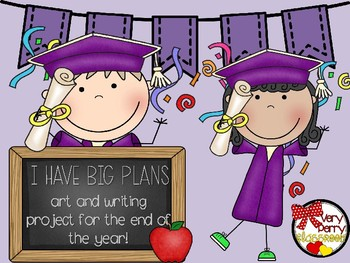 I Have BIG PLANS end-of-the-year and graduation craft