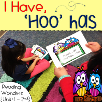 I Have Who Has for Reading Wonders Sight Words 2nd grade {Unit 4}