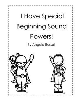 I Have Special Beginning Sound Powers!