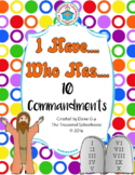 I Have....Who Has - 10 Commandments for Catholic