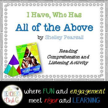 "I Have, Who Has ""All of the Above"" by Shelley Pearsall"