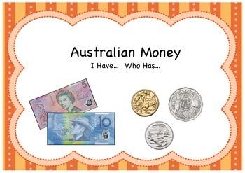 I Have.. Who Has: Australian Money
