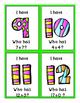 I Have Who Has - BUNDLE Addition, Subtraction Pre-Primer S