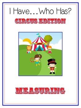 I Have Who Has - CIRCUS - A Nonstandard Measuring Math Fol
