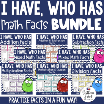I Have, Who Has - Facts Bundle