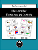 I Have...Who Has? Fraction Area and Set Models (3.3A, 3.NF.1)