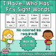 I Have Who Has Fry Words - Second 100 Words (Words 101-200
