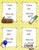 I Have, Who Has Game: Short Vowels Review