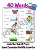 I Have...Who Has? Game--Spring Vocabulary-ENGLISH Version
