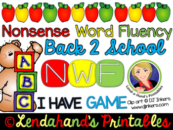 I Have Who Has Game by Ms. Lendahand (BACK to SCHOOL Theme)